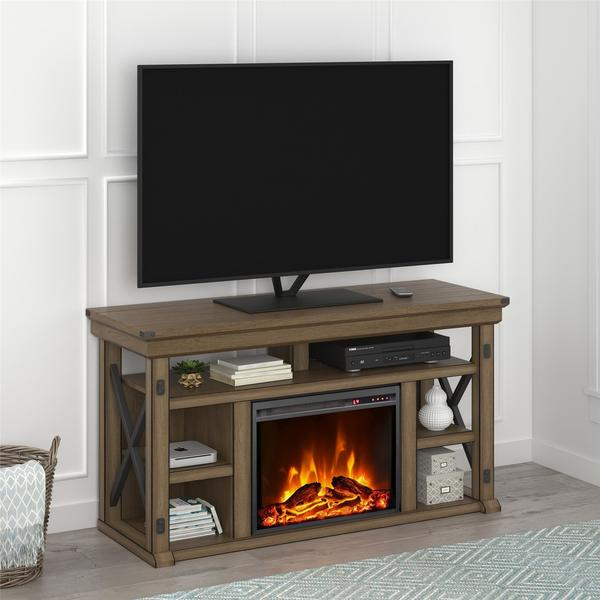 Shop Avenue Greene Woodgate Fireplace 60 Inch Tv Stand