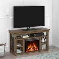 Avenue Greene Woodgate Fireplace 60 inch TV Stand - N/A