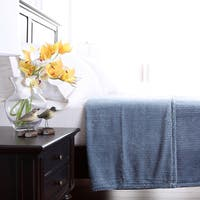 Berkshire Blanket Textured Squares VelvetLoft Blanket