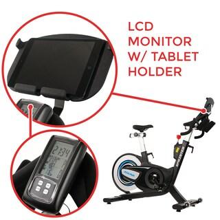 ASUNA 6100 Sprint Commerical Indoor Exercise Bike - Black