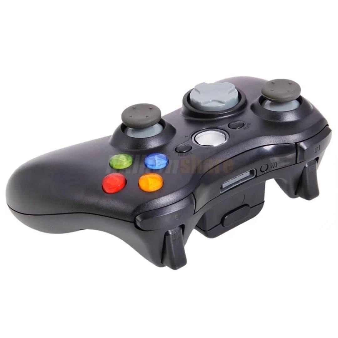 Black Wireless Game Remote Controller for Microsoft Xbox ...