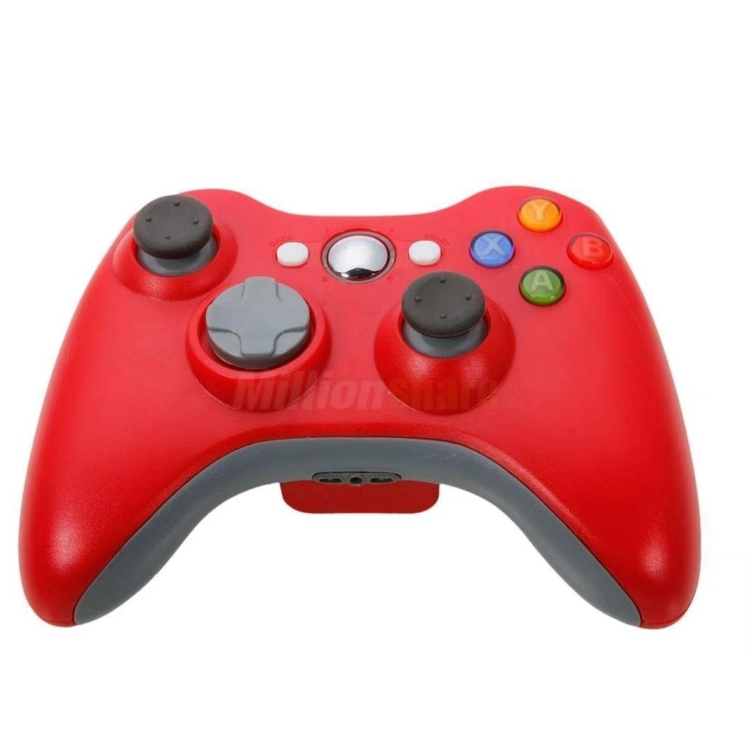 New Wireless Game Remote Controller for Microsoft Xbox 360 Console Red #X372119007119