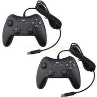 Lot2 Durable USB Wired Remote Game Controller For Xbox One XboxOne