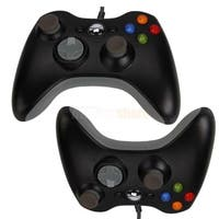 2X Hot Wired USB Game Controller for Microsoft Xbox 360 PC Windows