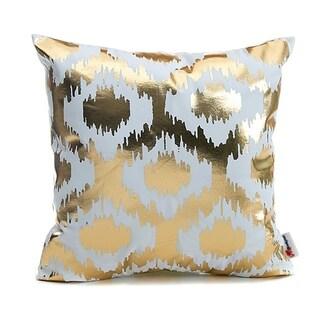 Flannel Pillow Case White Love 18 x 18