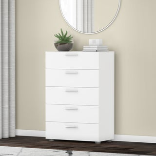 Porch & Den Kern Stanton Foiled Surface 5-drawer Chest
