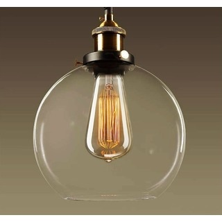 Porch & Den Riverwest Fratney 8-inch Adjustable Height Pendant with Bulb
