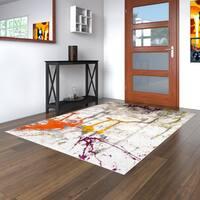 Porch & Den Hampden Harding Abstract Ivory Area Rug