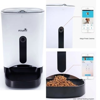 Smart Auto Pet Feeder With Iphone & Andriod or other smart devices