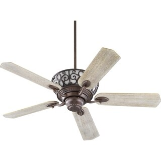 Cimarron Wood 52-inch Transitional Ceiling Fan With Integraded Uplight Light Kit