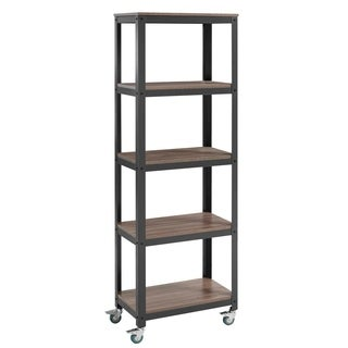Modway Vivify Metal 4-shelf Bookcase