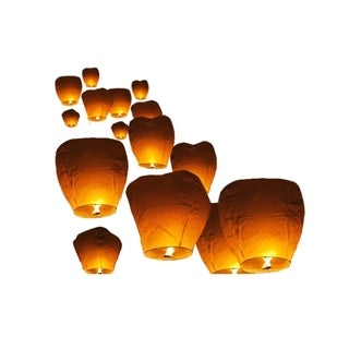 Sky Lanterns - Flying Chinese Lanterns - 10pcs
