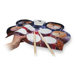 Rock N Roll It- Drum Live. Completely portable and flexible drum pad