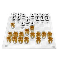 Shot Glass Chess and Checkers Game Set- 32 Shot Glasses by Hey! Play!