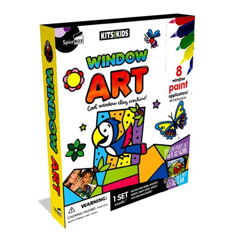 SpiceBox Kits For Kids Window Art Kit