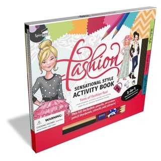 SpiceBox Fashion Sensational Style Activity Book