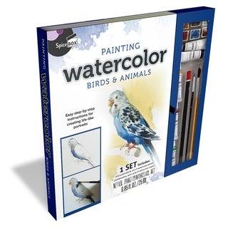 SpiceBox Master Class Paiting Watercolor Birds & Animals Kit