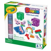 Crayola Fairy Pony & Unicorn Play Land Modeling Dough Kit