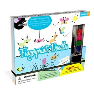 SpiceBox Imagine It! Fingerprint Doodles Kit