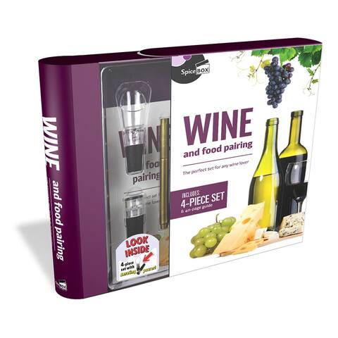 SpiceBox Wine & Food Pairing Kit