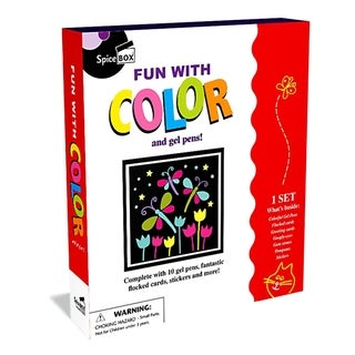SpiceBox Fun With Color & Gel Pens Craft Kit