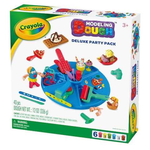 Crayola Deluxe Party Pack Modeling Dough Kit
