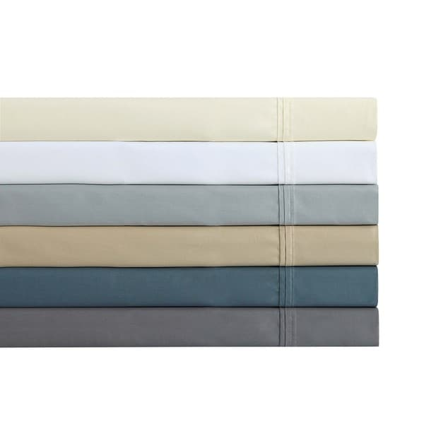 Charisma 510 Thread Count Luxury Solid Cotton Sateen Sheet Set