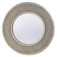 "Seahaven Rope Mirror 36"" wide - Misty Haze - Brown"
