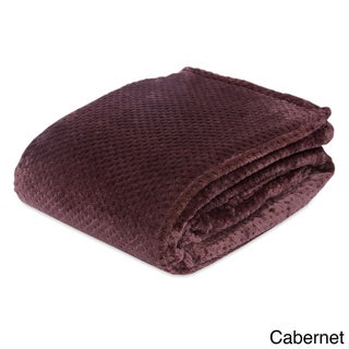 Berkshire Blanket Honeycomb Shimmersoft Bed Blanket