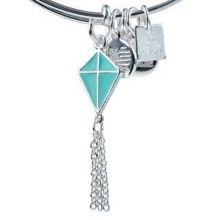Link to Alex and Ani Kite Bracelet Similar Items in Charms & Pins