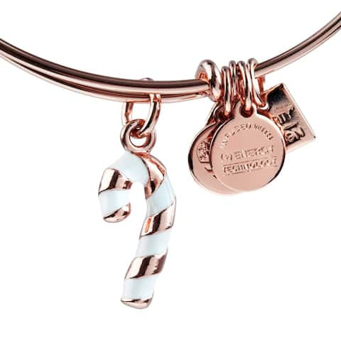 Alex and Ani Candy Cane Bracelet