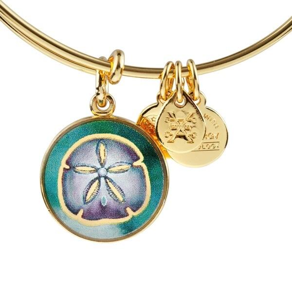 8b260fed9 Shop Alex and Ani Sand Dollar Bracelet - On Sale - Free Shipping On ...