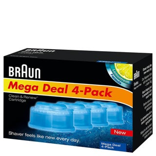 Braun Clean & Renew CCR4 Cleaning Cartridge (Pack of 4)