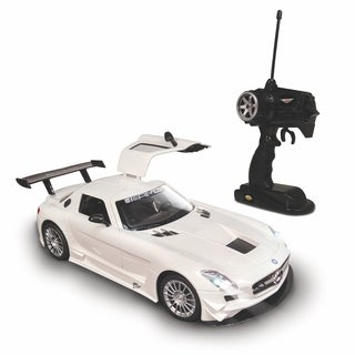 NKOK Luxe 1:15 Radio Controlled Mercedes-Benz SLS AMG GT3 (RC) - Colors Vary (Grey/White)