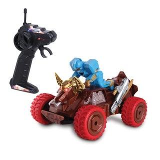 NKOK Power Rangers Ninja Steel Bull Rider Zord Remote Control Toy (RC)