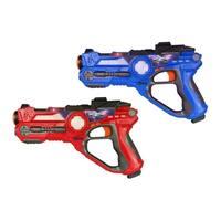 NKOK Power Rangers Ninja Steel Laser Tag 4-Team Blasters