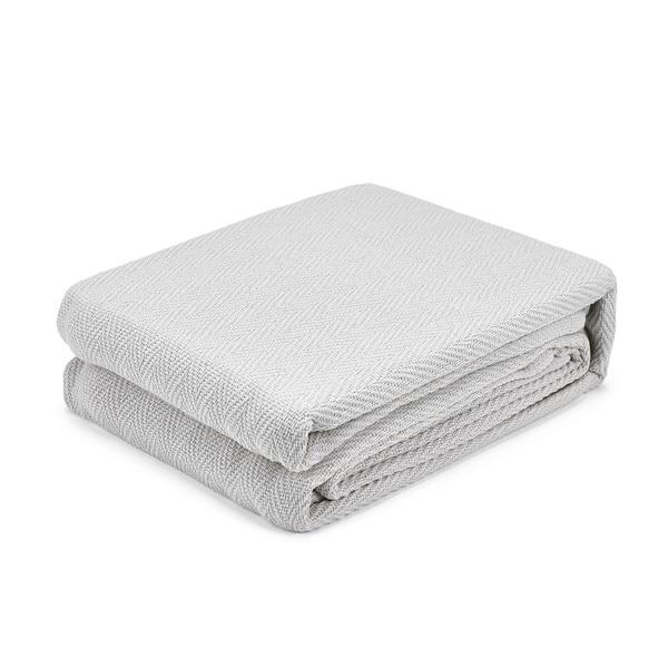 Waverly Cozy Cotton Chevron Blanket