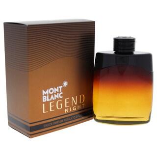 Mont Blanc Legend Night Men's 3.3-ounce Eau de Parfum Spray
