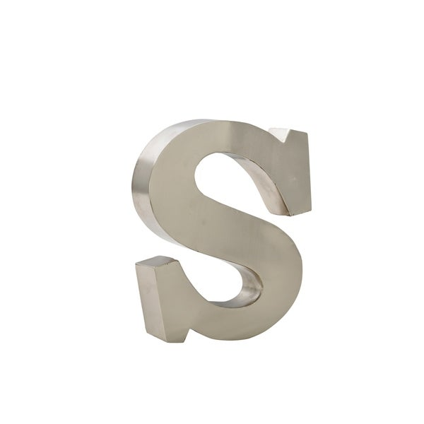 Shop Cdi Furniture Alpha Beta Collection 12 Inch Metal Letter S