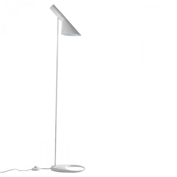 Arne White Metal 53-inch Task Floor Lamp