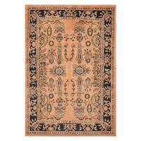 Handmade Herat Oriental Persian Hand-knotted Tribal Sarouk Wool Rug (3'7 x 5'2) - 3'7 X 5'2