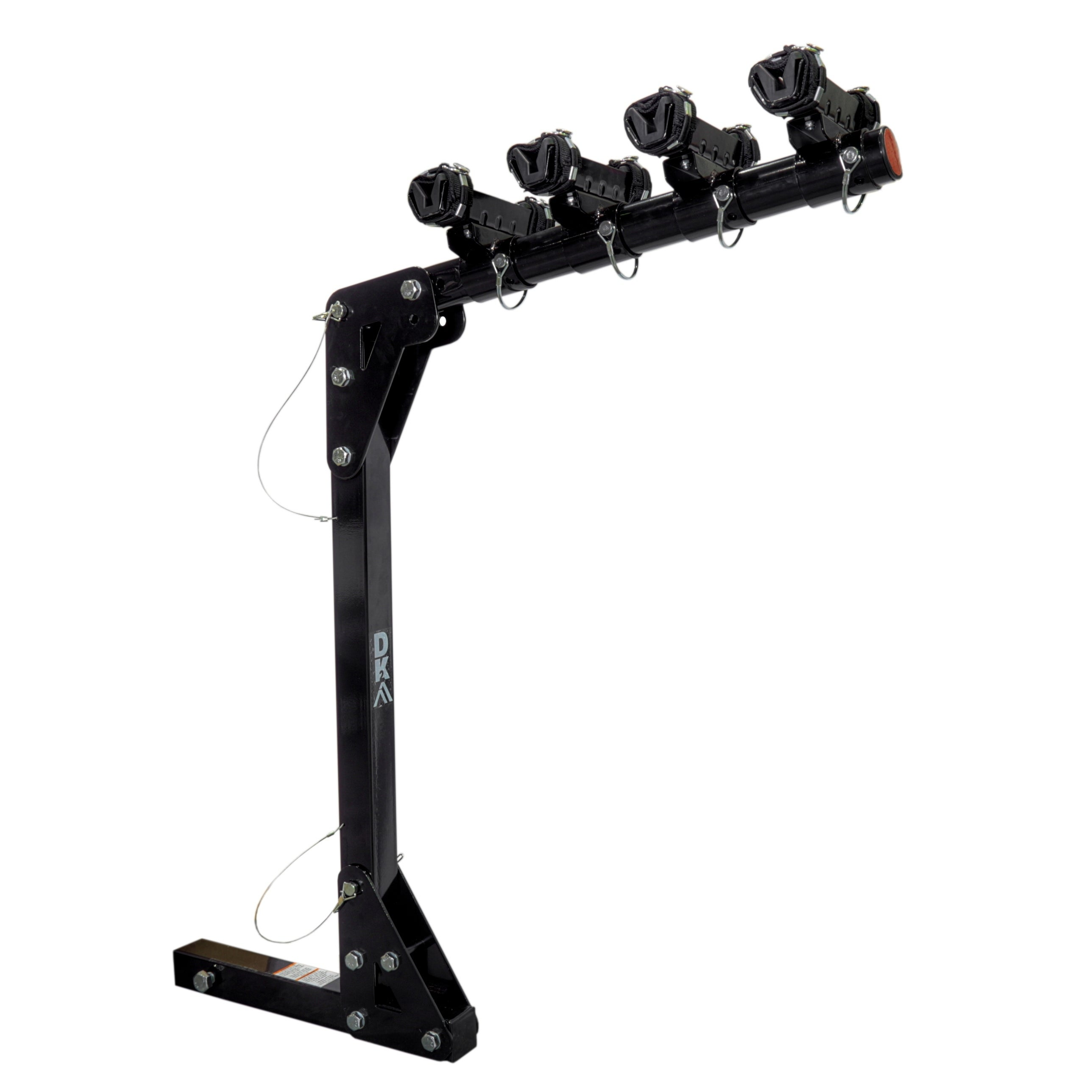 K2 DK2 Hitch Mounted Bicycle Carrier, Black