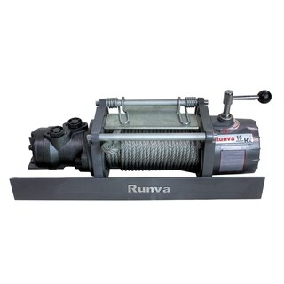 10000lb Runva Hydraulic Towing Recovery Winch Kit