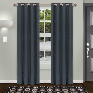 Link to Superior Shimmer Insulated Thermal Blackout Grommet Curtain Panel Pair Similar Items in Curtains & Drapes