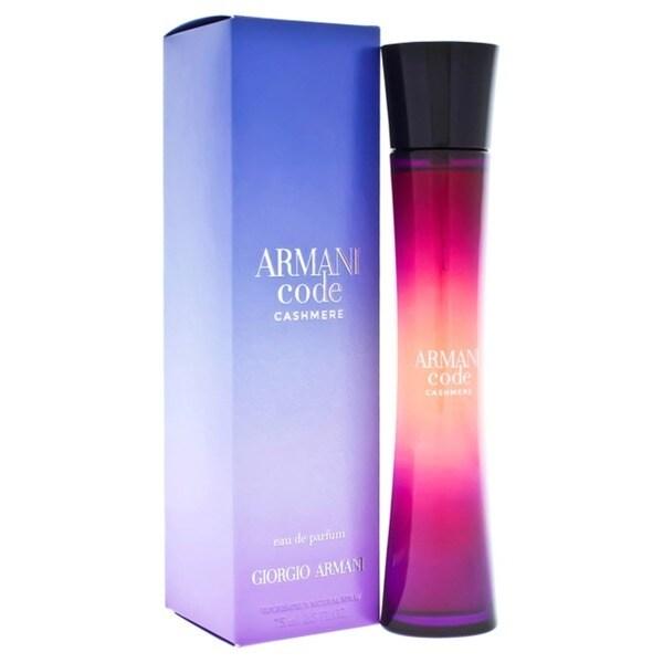 f685f705b273e Shop Armani Code Cashmere Women's 2.5-ounce Eau de Parfum Spray ...