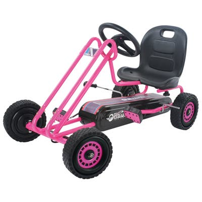 Hauck Lightning Ride-On Pedal Go-Kart Pink