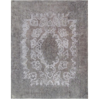 """Pasargad Vintage Overdyes Collection Wool Rug (9'11"""" X 12'11"""") - 10' x 14'"""