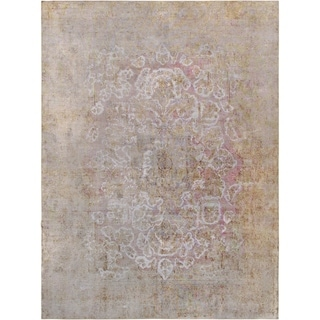 """Vintage Overdyes Collection Hand-Knotted Wool Rug (9' 5"""" X 13' 1"""") - 9' x 13'"""