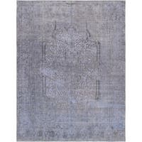 "Pasargad Vintage Overdyes Lamb's Wool Area Rug (9' 5"" X 12' 6"")"
