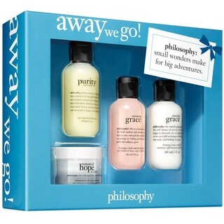 Philosophy Away We Go! 4-piece Set